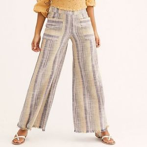 Free People Moonlight Pull On Wide Leg Pants